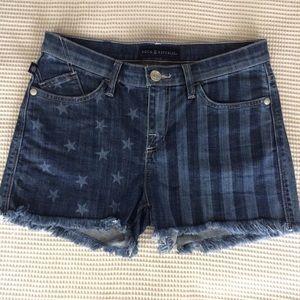 Rock Republic Stars Stripes Lolita Jean Shorts 8